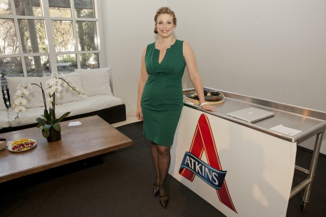 Atkins Cookbook launch