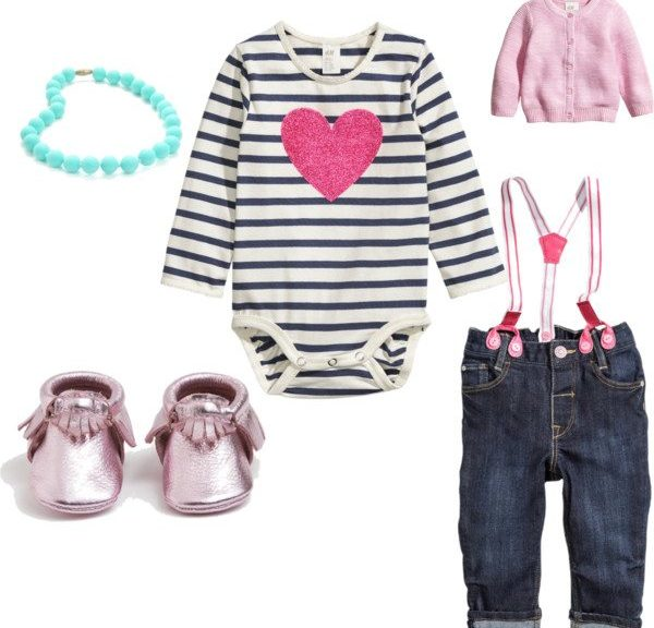 Valentines Day Outfit Baby Babies Birth